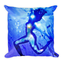"Load image into Gallery viewer, Beautiful ""I AM"" design on a popular and stylish pillow"