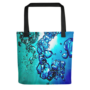 "A spacious tote bag featuring our popular ""Traits of Knowing"" design."