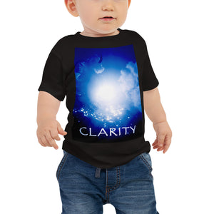 "Baby T shirt printed with a unique and vivid ""Clarity"" design. Beautiful underwater photography."