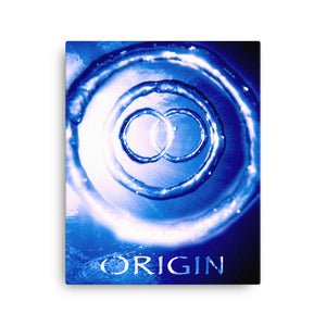 "Canvas Print<br />""Origin"""