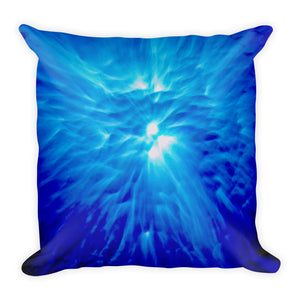 "Beautiful ""Feather Light"" design on a popular and stylish pillow"