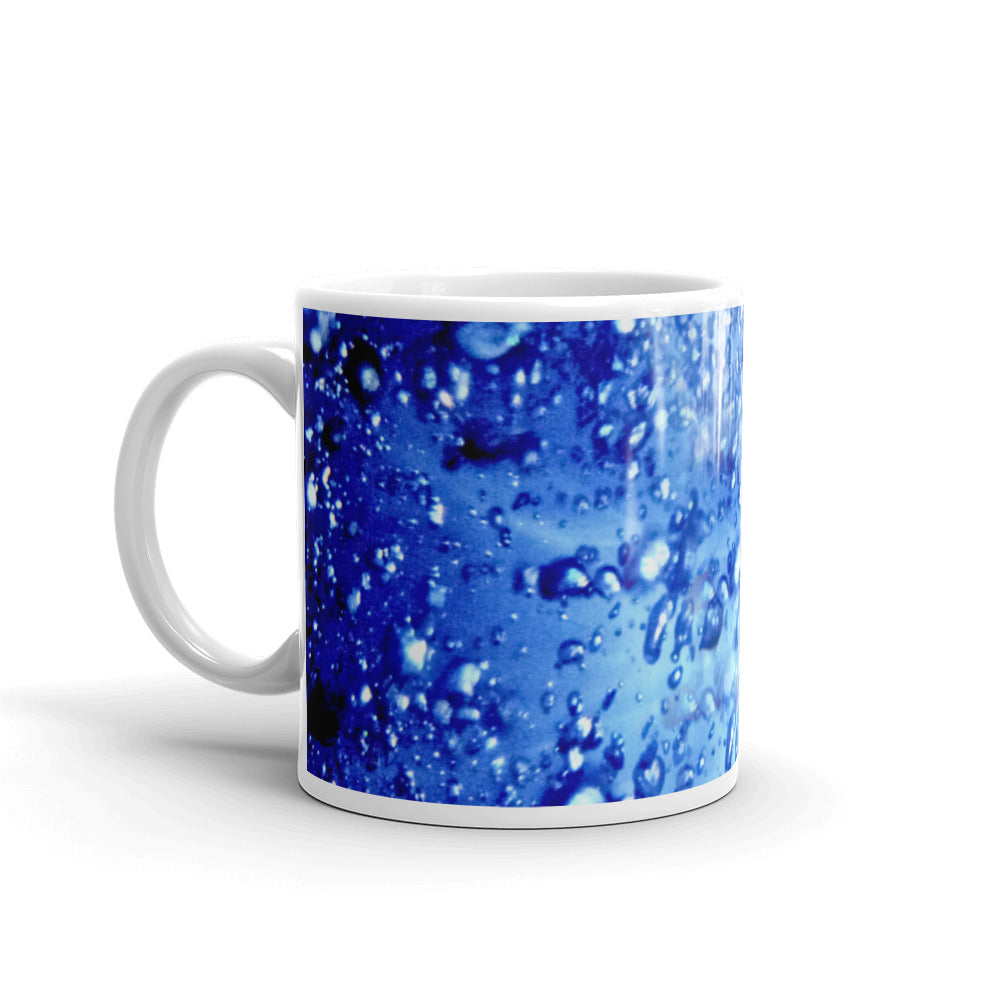 Ceramic coffee mug printed with