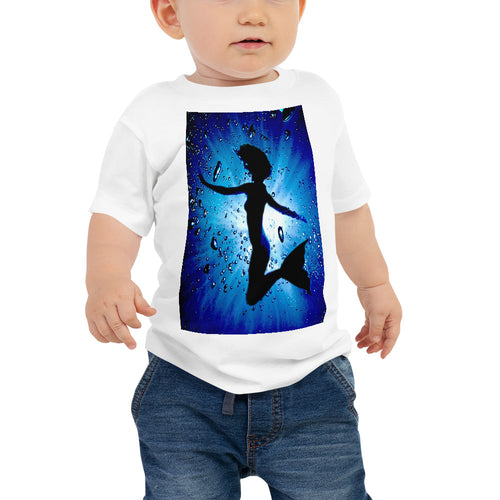 Baby T shirt printed with a unique and vivid