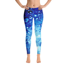"Load image into Gallery viewer, Women's Leggings<br />""Water Song"""