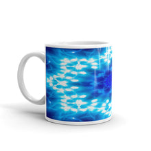 Load image into Gallery viewer, Ceramic coffee mug printed with our water and light Angel Choir vivid design.