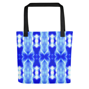 "A spacious tote bag featuring our popular ""DNA1"" design."