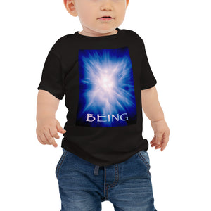 "Baby T shirt printed with a unique and vivid ""Being"" design. Beautiful underwater photography."