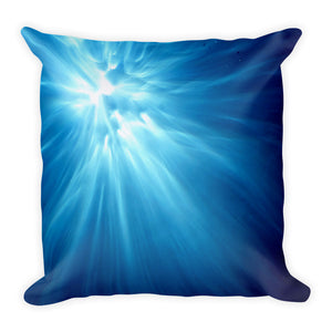 "Popular ""Morning"" design in a stylish and comfortable pillow."