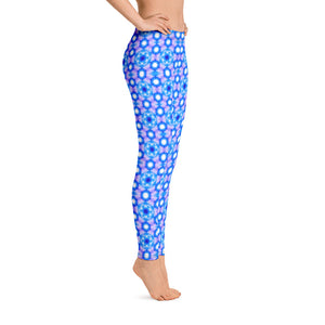 Women's leggings. Beautiful water sunlight Sacred geometry pattern. Underwater Photography. Live Your Light