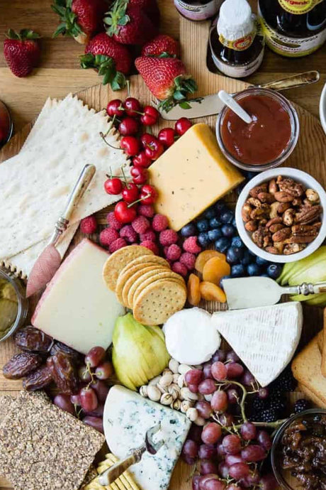Crooked Pickle's Guide to Creating the Ultimate Valentine's Cheeseboard