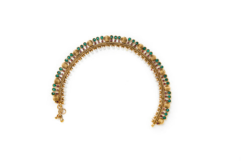 Moti Multi Colored Anklet
