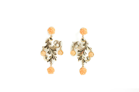 Blooming Rose Earrings