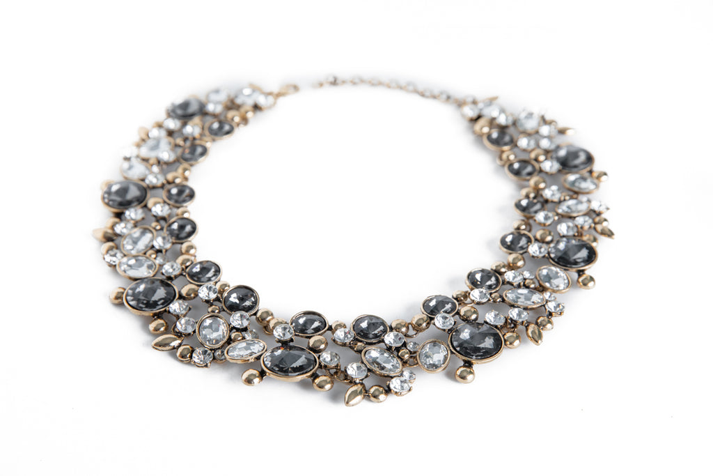 Rhinestone Shine Necklace