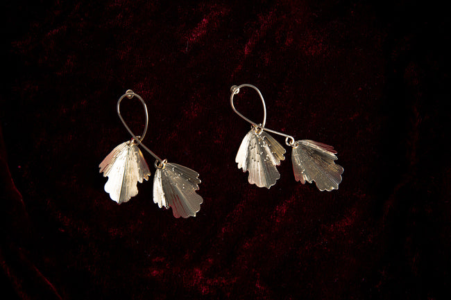 Leafy Danglers Earrings