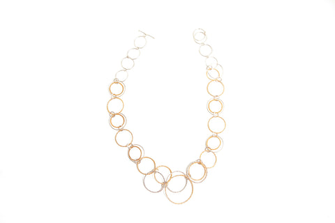 Double Hoops Necklace