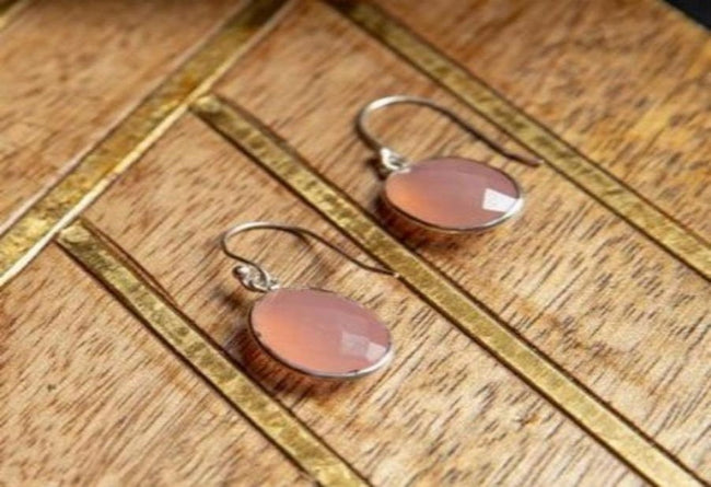 Calci Pink Earrings