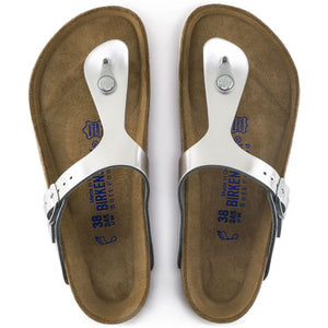 Birkenstock Gizeh BS Metallic Silver Regular