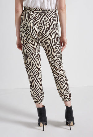 Current Elliot The Roxwell Pant in Zebra Stripe
