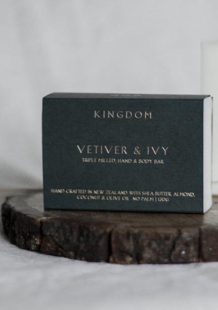 Vetiver & Ivy - Hand and Body Bar