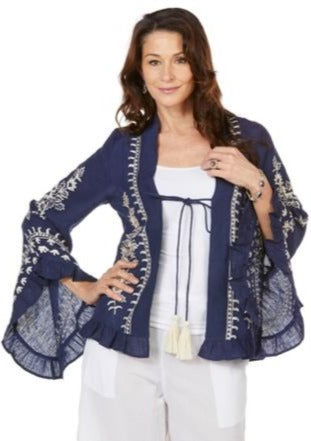NAUDIC Hilton Cape Eden Embroidery Navy
