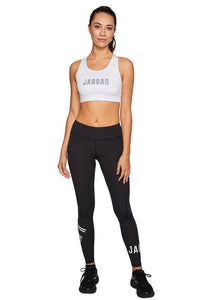 Jaggad Core Compression Tights Blk/White