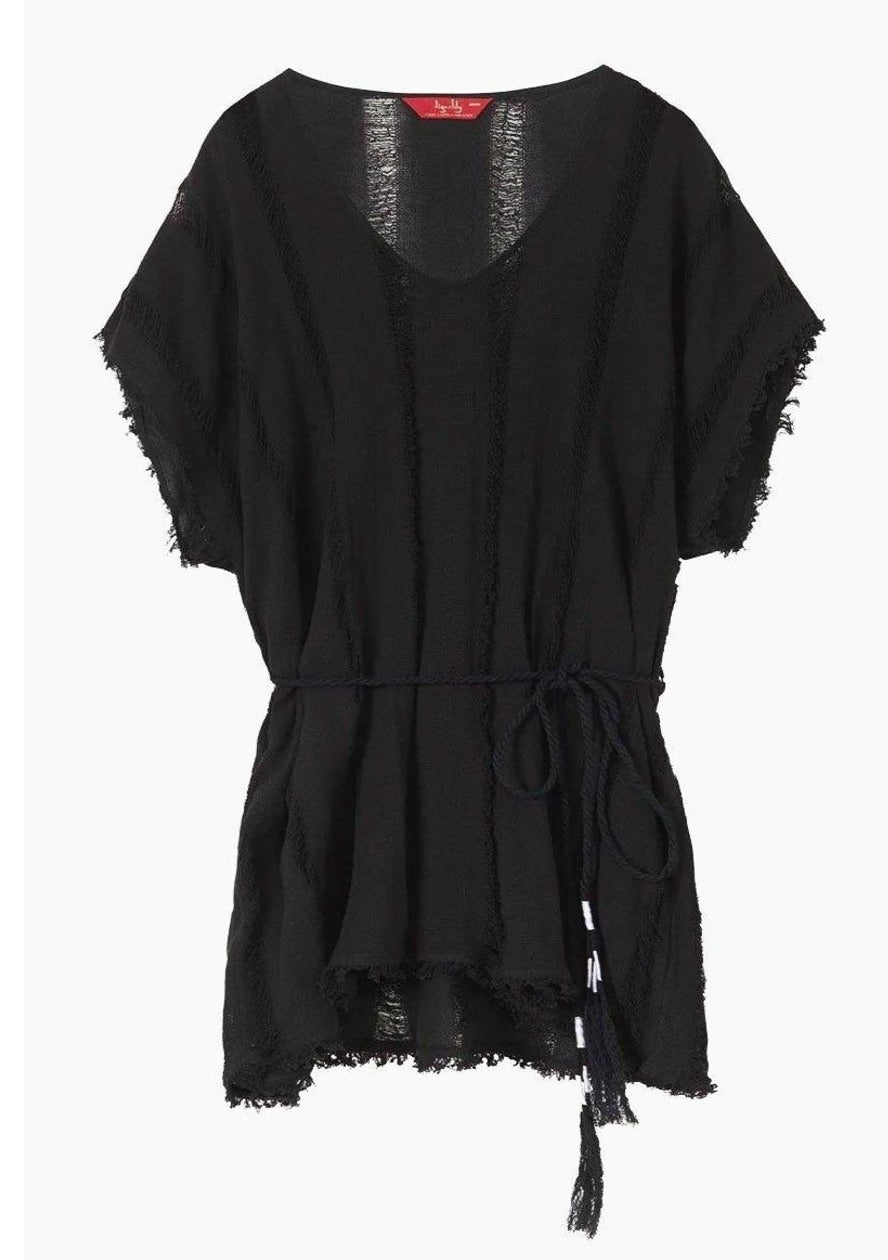 Tigerlily Despina Swimwear Kaftan in Black