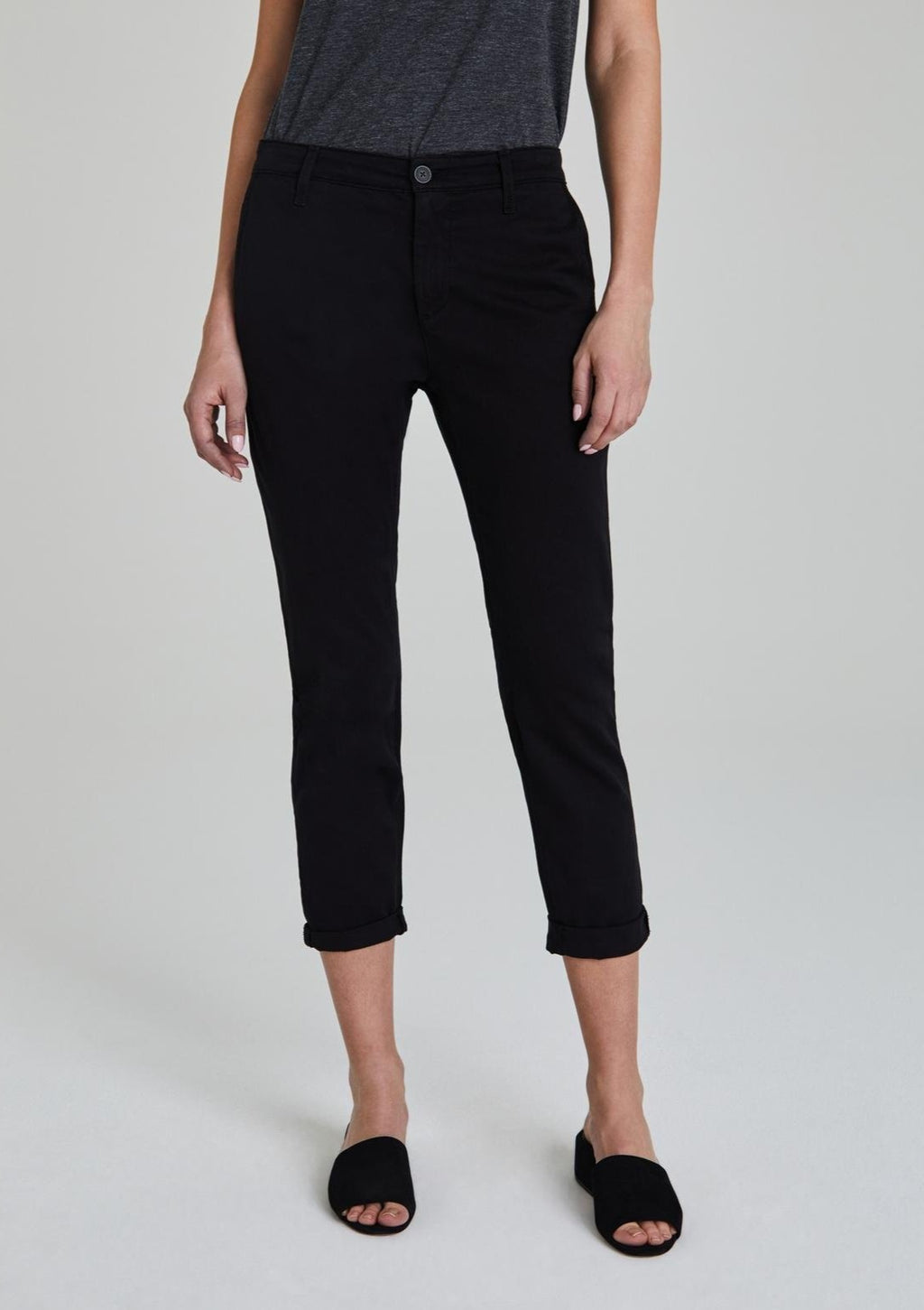 AG The Caden Tailored Trouser in Super Black