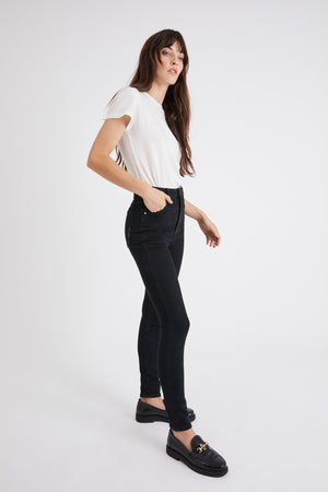 Marilyn Skinny in Zero Rose Black