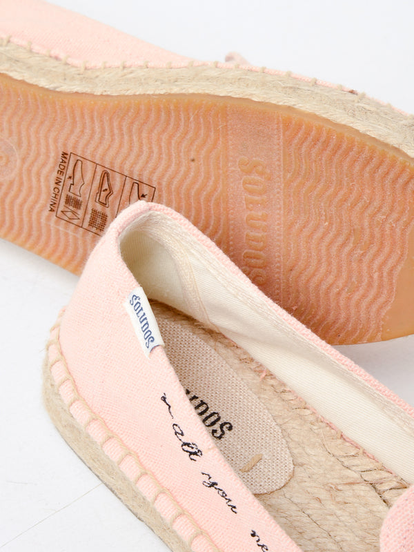 Soludos All You Need Smoking Slipper in Peach