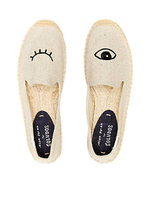 Soludos Wink Embroidery SM slipper