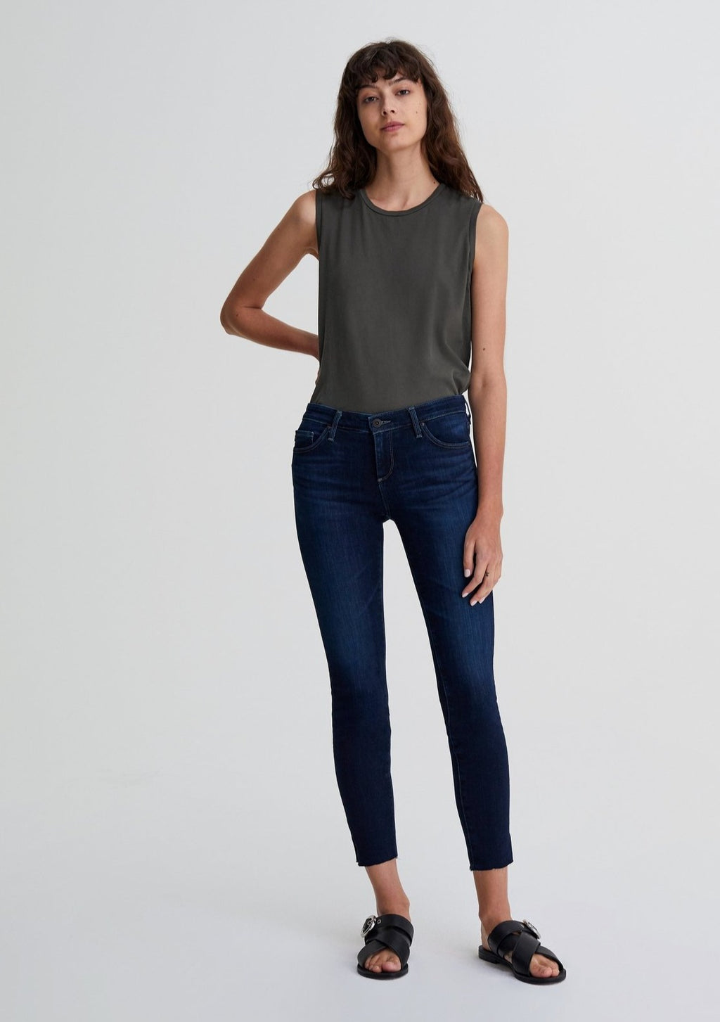 AG Jeans The Legging Ankle in Concord denim