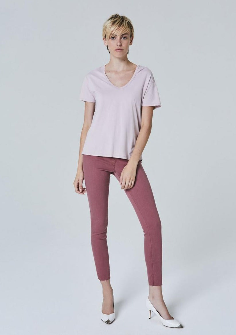 AG The Legging Ankle  in Autumn Rose