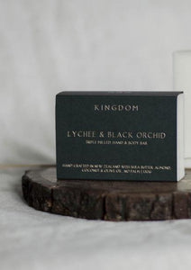 Lychee & Black Orchid - Hand and Body Bar