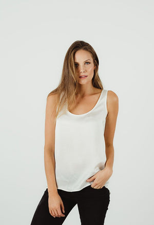 Humidity Isola Singlet in Ivory