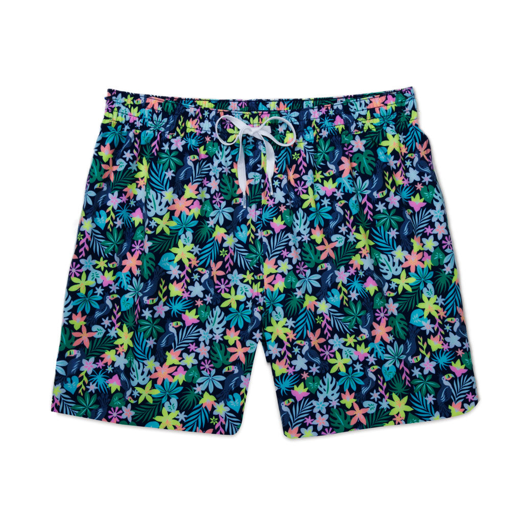 6f5445d0e0 The This Land Was My Lands | Chubbies Black Dinosaur Swim Trunks