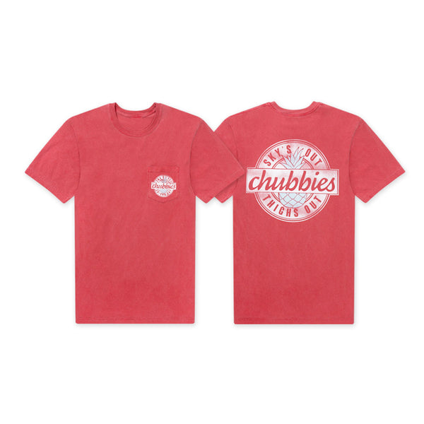 d8631e82 Crimson Pineapple Pocket Tee