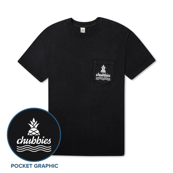 0deb7e6f7c Black Chubbies Pocket Tee