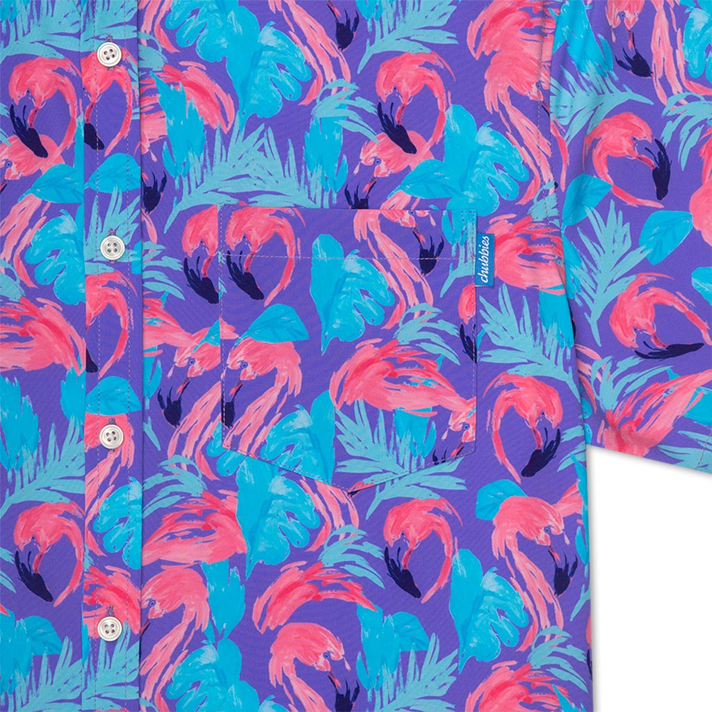 The Flamingo And Ready To Mingle (Full Button Stretch)