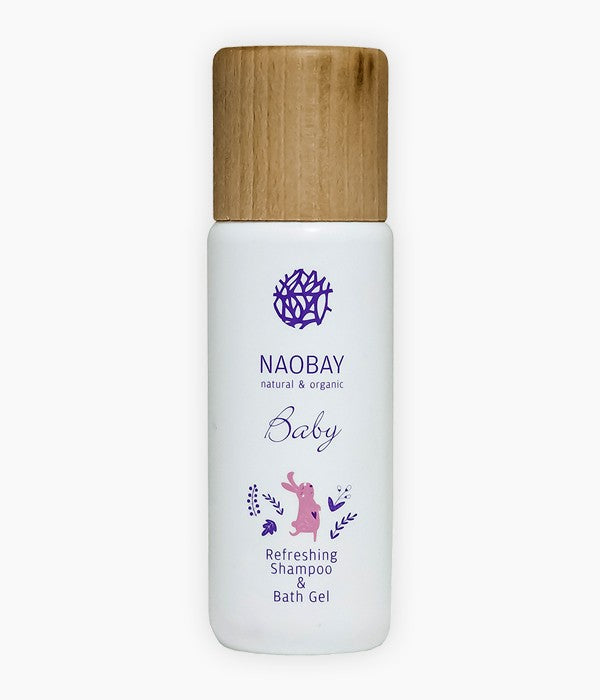 Refreshing Shampoo & Bath Gel (200ml) - Naobay | Tarannà Cosmetica Natural