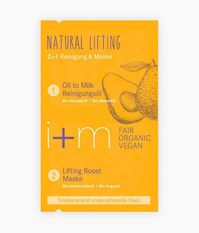 Mascareta facial 2 en 1 lifting natural - I+M | Tarannà Cosmetica Natural