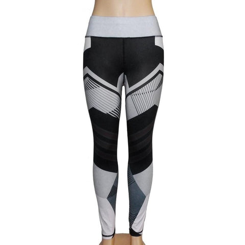 Digital Print High Waisted Leggings