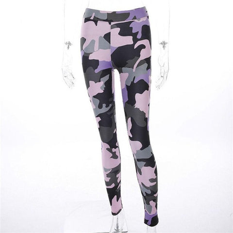 High Women Legging Print