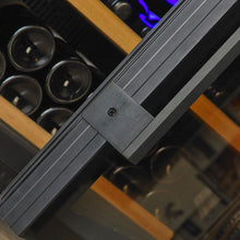 Load image into Gallery viewer, Swisscave Black Edition Dual Zone Wine Cooler WLB-460DF (168 - 200 BOT)-Swisscave-ChillingWine