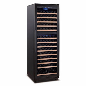 Swisscave Black Edition Dual Zone Wine Cooler WLB-460DF (168 - 200 BOT)-Swisscave-ChillingWine