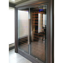 Load image into Gallery viewer, Swisscave Wine Cooler WL450F (178-220 BOT) with optimised cooling system-Swisscave-ChillingWine