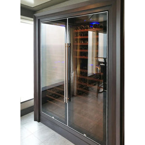 Swisscave Wine Cooler WL450F (178-220 BOT) with optimised cooling system-Swisscave-ChillingWine