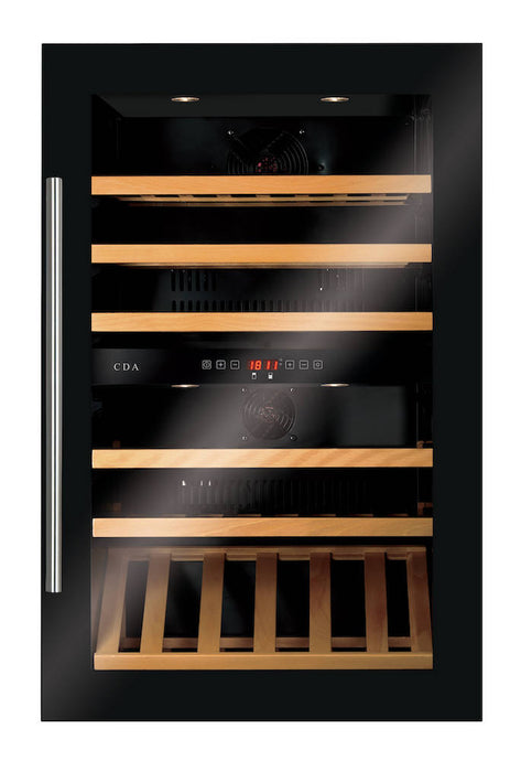 Available 28/12/20 Great Offers FWV902BL Integrated Wine Cooler CDA-CDA-ChillingWine