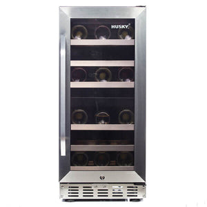 Husky ZY4 Signature Dual Zone Wine Cooler 31 Bottles-Husky-ChillingWine
