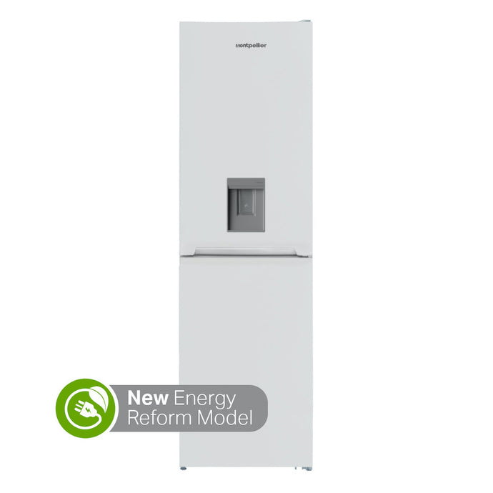 Free Delivery - Montpellier MFF185D Fridge Freezer with 245 litres of space