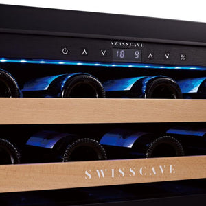 Save today New WL155DF Swisscave 2 zone wine cooler - 40-50 capacity-Swisscave-ChillingWine